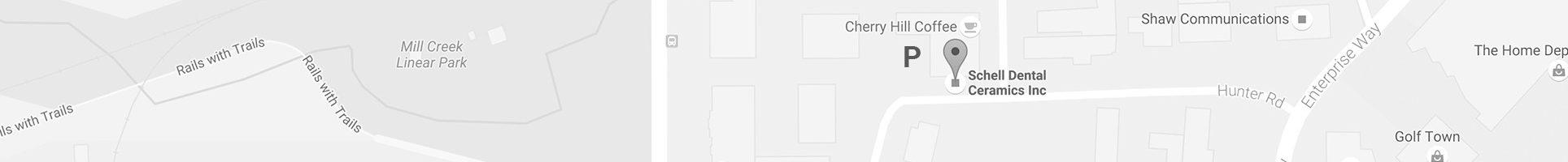 schell-dental-ceramics-inc-map